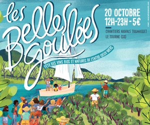 Fête des vins bios et naturels en Entre-deux-Mers