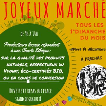 Le «Joyeux Marché» en transhumance !