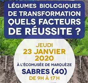 LÉGUMES BIOLOGIQUES DE TRANSFORMATION