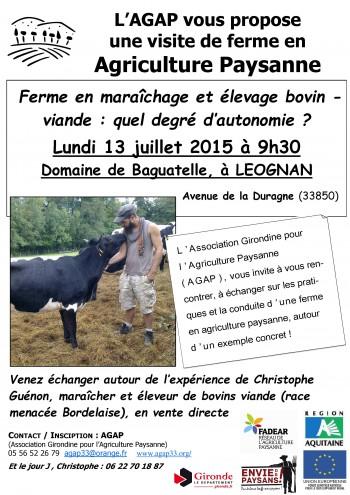 visite de ferme en polyculture-élevage