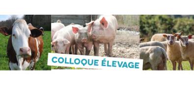 Colloque Elevage Bovins lait et viandes, porcs et ovins